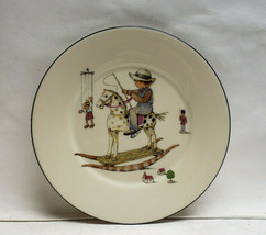 "LENOX Ivory China Giftware - 8"" CHILD'S PLATE - Rocking Horse - $24.95"