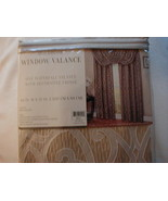 Holbrook  - Waterfall Valance With Fringe - BEIGE - Free USPS Priority S... - $9.79