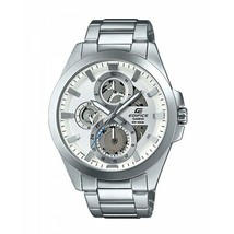 Casio Edifice Analog White Dial Men's Watch - ESK-300D-7AVUDF - £75.00 GBP