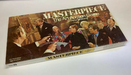 Masterpiece Art Auction Game Complete All Pieces Cards Accounted for Par... - $59.39