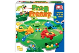 Frog Frenzy Family Toy Children  Family Games Rush to Win Ball Hungry Frog  - $11.23