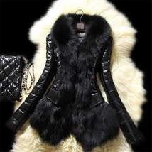 Black Faux Fur Women Coat - $50.60