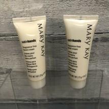 Mary Kay Satin Hands Hand Cream .75 oz Pocket/Purse Size New X 2 - $8.90