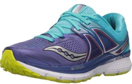 Saucony Triumph ISO 3 Sz 5 D WIDE EU 35.5 Women's Running Shoes Purple S10347-1 - $58.79