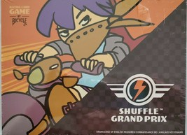 Shuffle Grand Prix Racing Card Game By Bicycle ACC 2-4 Players NEW Sealed Box - $14.44