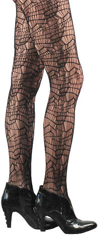 3ca3d38c6 Funky Webbed Spiderweb Fashion Tights. Made and 50 similar items