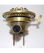 Superb Victorian Massengers No.2 Duplex Kerosene oil  lamp Burner Brass ... - $152.24