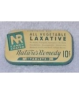 Vintage Natures Remedy NR Laxative 10 Cent Convincer Box Tin  - $7.95