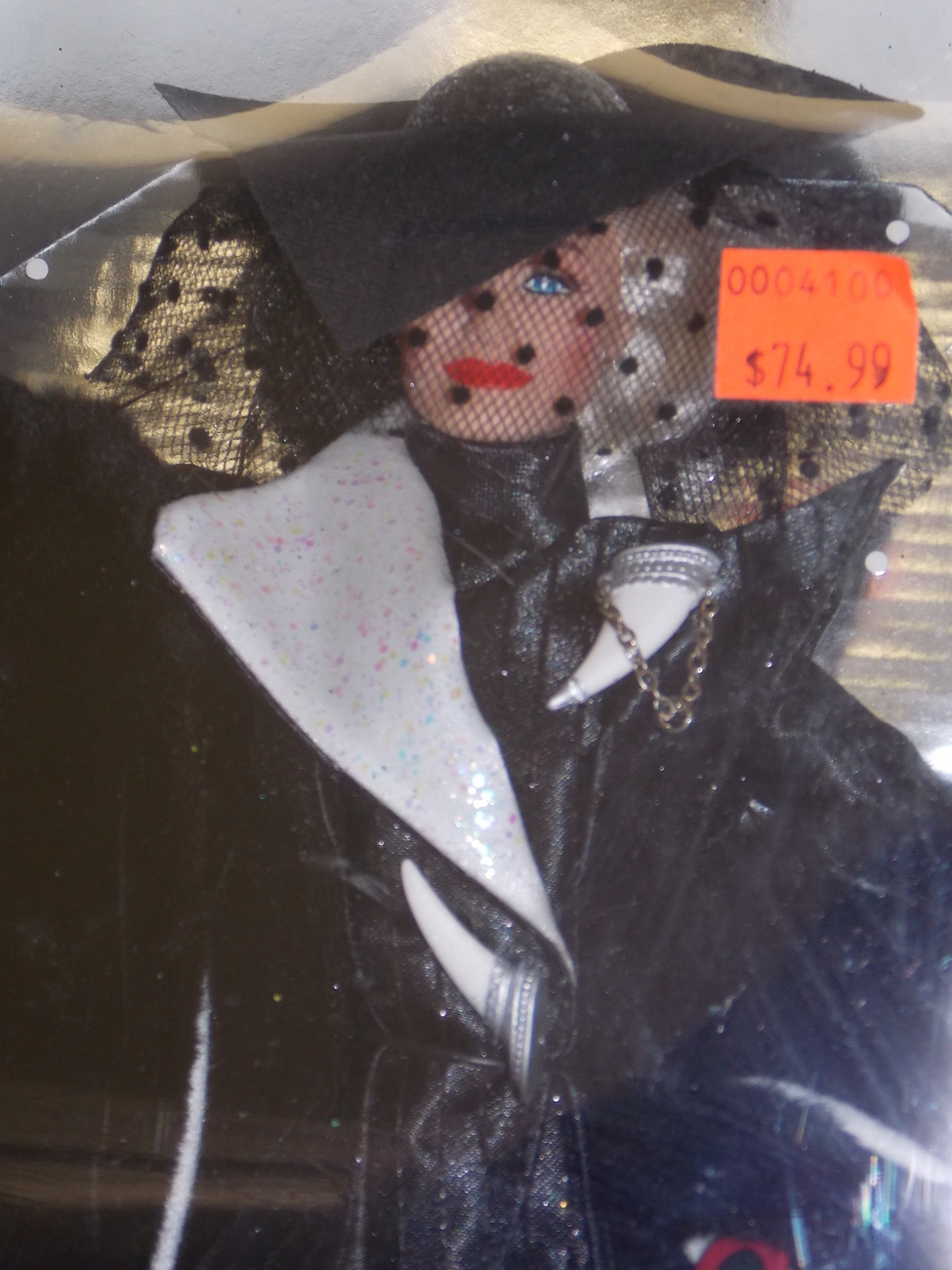 1996 Disney 101 Dalmations Cruella De Vil Power In Pinstripes Doll New In Box