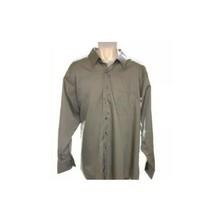 Arrow Men's Dress Shirt Brown Long Sleeve Formal - $17.82