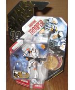 * Star Wars 2007 Airborne Trooper #07 w/ Gold C... - $15.00