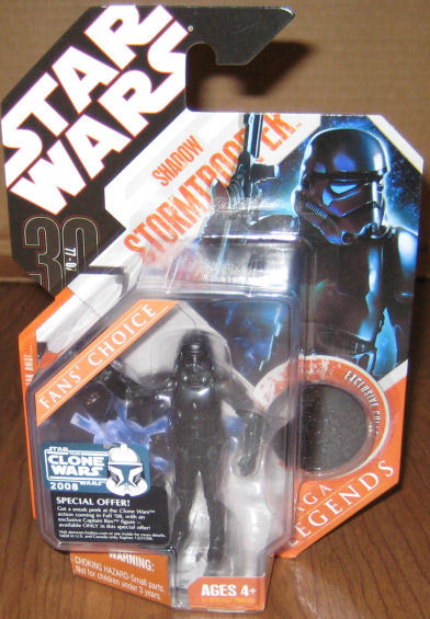 * Star Wars 2007 Shadow Stormtrooper