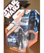 * Star Wars 2007 Shadow Stormtrooper w/ Black C... - $15.00