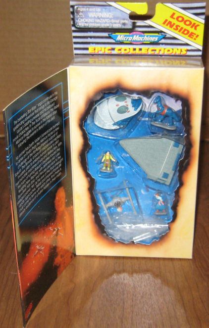 * Star Wars Micro Machines TRUCE AT BAKURA Vintage 1996 Galoob