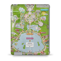 Epcot Center Map Tablet Hard Shell Case - $29.99+
