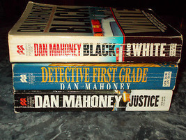 Dan Mahoney lot of 3 suspense paperbacks - $3.99