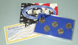 2003 Philadelphia Mint Edition State Quarter Collection - IL, ME, MO, AL, AR - $12.55