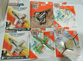Matchbox Sky Busters Commercial & Military Toy Aircraft Planes Select Below - $13.99+