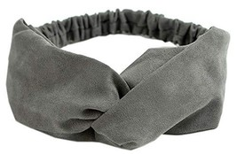 StylesILove Stylish Womens Girls Suede Solid Twisted Knot Headband Head ... - $11.63