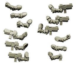 Spellcrow 28mm Sci-Fi - Changed Legions: Changed Knight Hands with Rapid Guns