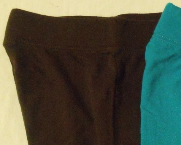 Girls Circo 2 pair Shorts Teal and Brown Size Medium 7 to 8