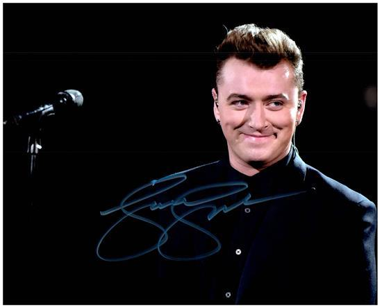 Primary image for SAM SMITH  Authentic Autographed Signed 8X10 Photo w/Certificate - 27184