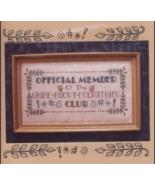 Griper's Club cross stitch chart Waxing Moon Designs - $8.10