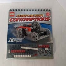 KLUTZ LEGO CRAZY ACTION CONTRAPTIONS CRAFT KIT 16 designs projects in book - $9.80