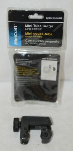 MintCraft 5368642 Mini Tube Cutter Suj2 Cutting Wheel Zinc Body