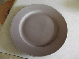 Home Trends Siena Coffee dinner plate 3 available - $5.35