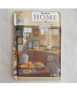 Simplicity Home Pattern 8693 Kitchen Accessories sew Sunflowers Shirley ... - $7.00