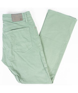 Adriano Goldschmied The Protege Straight Leg Mens Pants Mint Green Size ... - €29,11 EUR