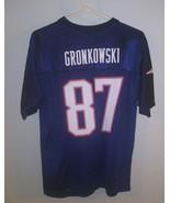 Youth Large Reebok Team NFL Rob Gronkowski #87 New England Patriots Jersey - $14.84