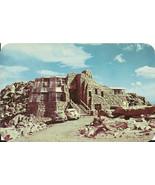 Mount Evans Crest House Denver Mountain Peaks Colorado Vintage Postcard - $2.34