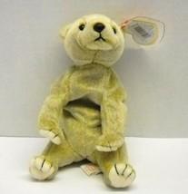 "1999 Ty Beanie Baby ""Almond"" Bear    : China Made w/P.E. Pellets - $8.94"