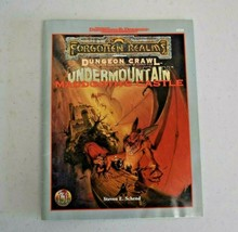 Undermountain Maddgoth's Castle Forgotten Realms Dungeons & Dragons Ad&D 9528 - $39.59