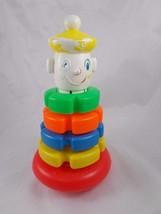"Playskool Stacking Clown Toy 9.5"" - $7.35"