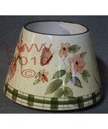 Home Interior Candle Shade- Butterfly Garden- Habitat in BOX - $7.99