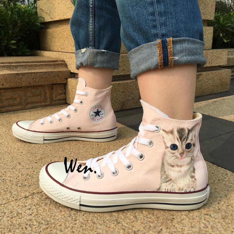 b26d627847c2 Women Men s Converse All Star Cute Cat and 50 similar items. Img 5236