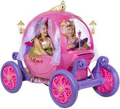 Disney Princess Car Girls Carriage Ride On Toy Play Pretend Fun Fairy Ta... - $550.82