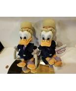 Disney NEW Scrooge Mc Duck toy Disney plush glasses cane nice detail sof... - $0.98