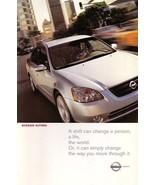 2003 Nissan ALTIMA sales brochure catalog set US 03 - $6.00