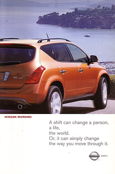 2003 Nissan MURANO sales brochure catalog set US 03