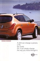 2003 Nissan MURANO sales brochure catalog set US 03 - $8.00