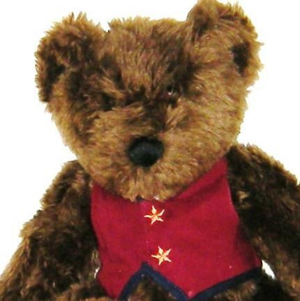 1/2 Price! Teresa Kogut Down By The Sea Plush Brown Bear New with Tag