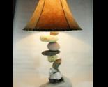 FALLING  ROCK  Rustic Table Lamp. fits most decors, like, western, southwestern