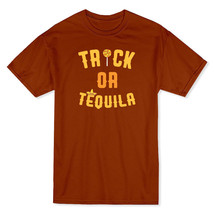 Trick Or Tequila Octuber Drinks Men's Texas Orange T-shirt - $17.81+