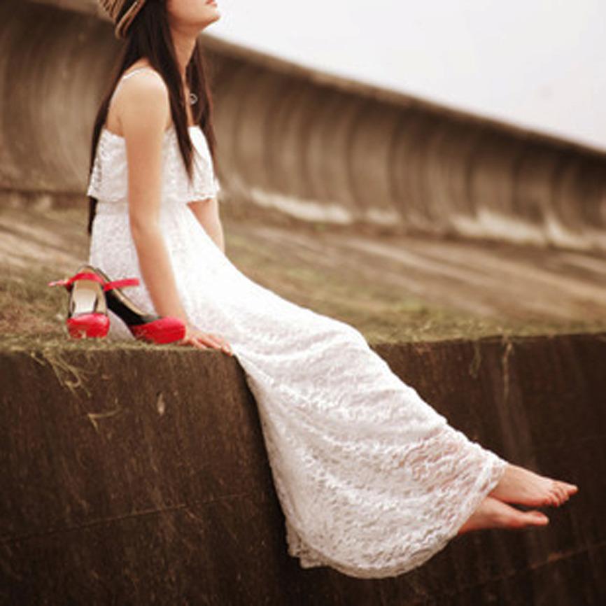 2013 bohemian full lace maxi dress