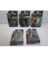"GI JOE 5 Different  3.8"" Action Figure Lot - Hasbro 2008 FS - $38.69"