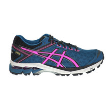Asics GT-1000 4 G-TX Women's Shoes Mosaic Blue-Hot Pink-Black t5b7n-5334 - $119.95